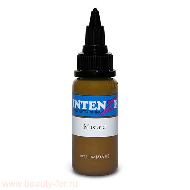 Intenze tattoo ink Mustard