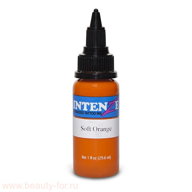 Intenze tattoo ink Soft Orange