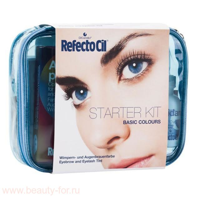 "RefectoCil Starter Kit ""Basic Colours"" - Стартовый набор."