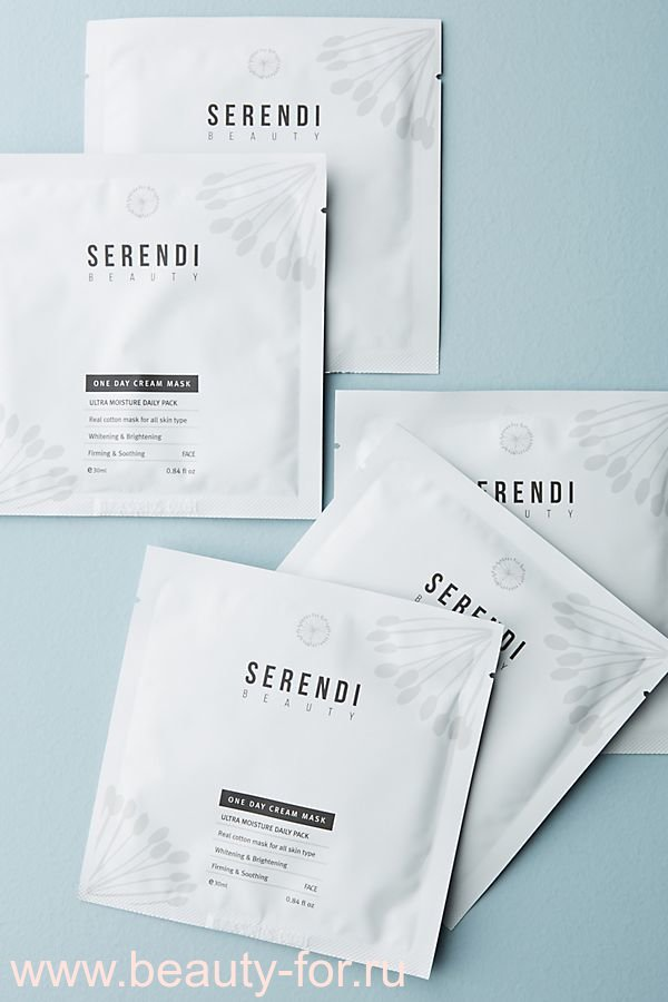 Маска для лица Serendi Beauty: One Day Cream Mask